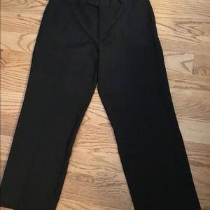 Men's Perry Ellis Black Dress Pants.